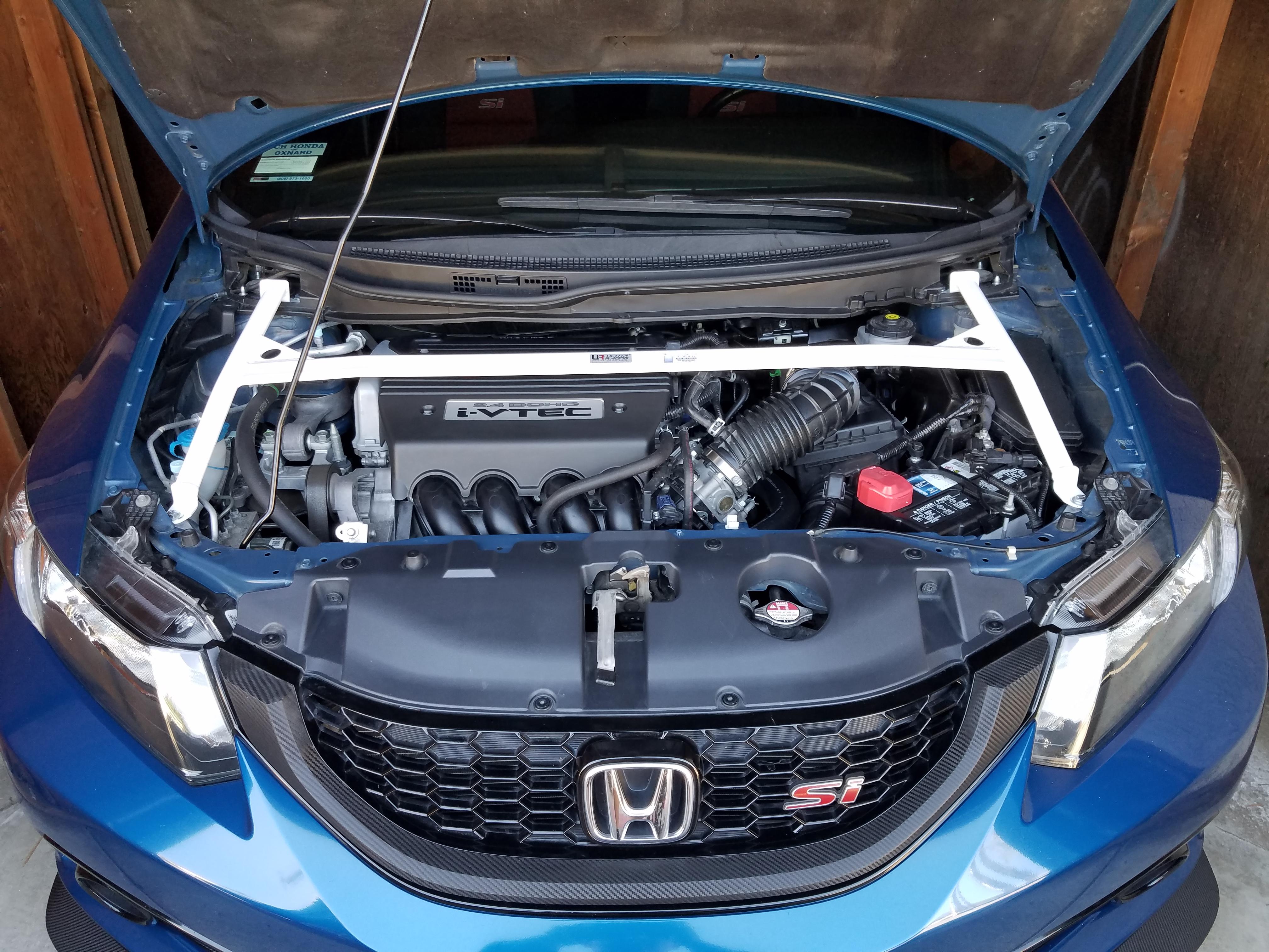 Jairo Hernandez Daily Honda FB6 on a full chassis brace kit Ultra